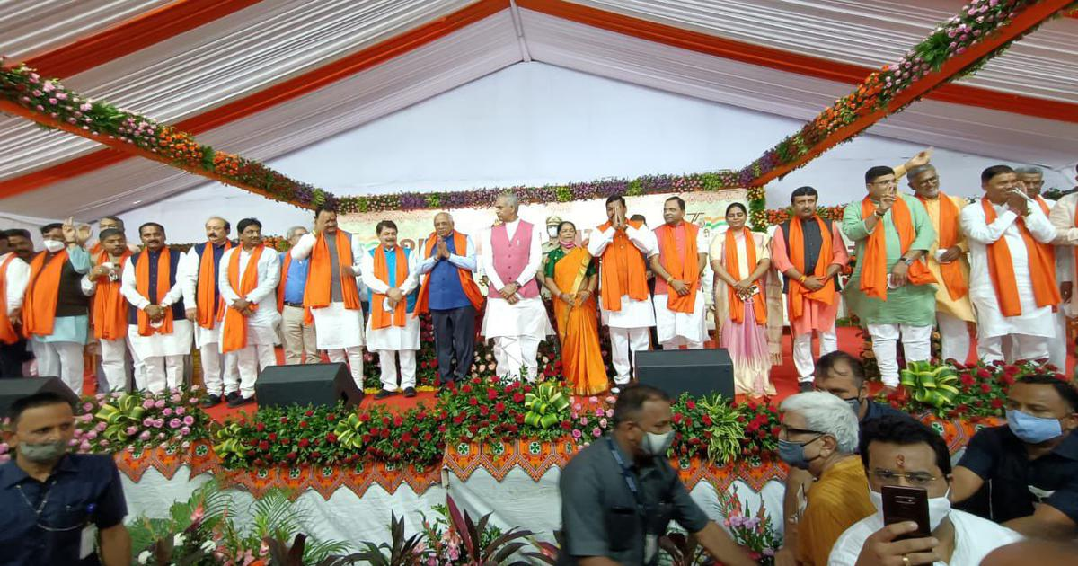 Gujarat CM Bhupendra Patel's 24 new Cabinet ministers take oath
