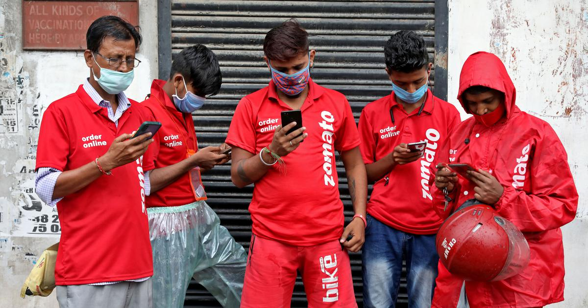 In India, delivery riders are taking to social media to talk about their long hours and low pay
