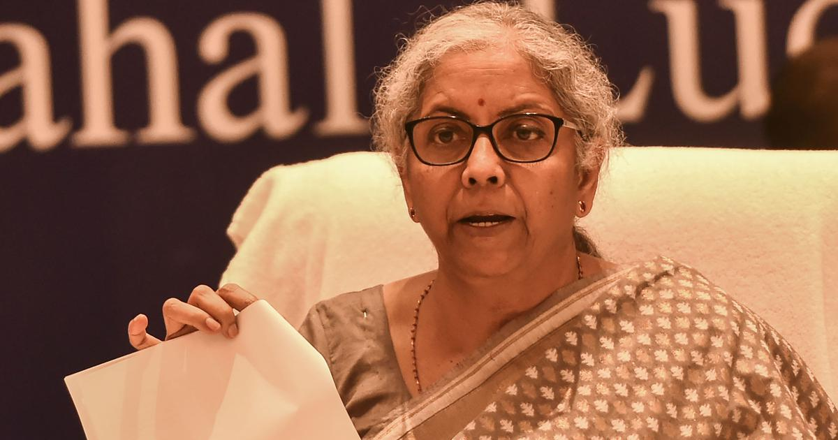 Petrol, diesel will not be brought under GST, says Nirmala Sitharaman after council meeting