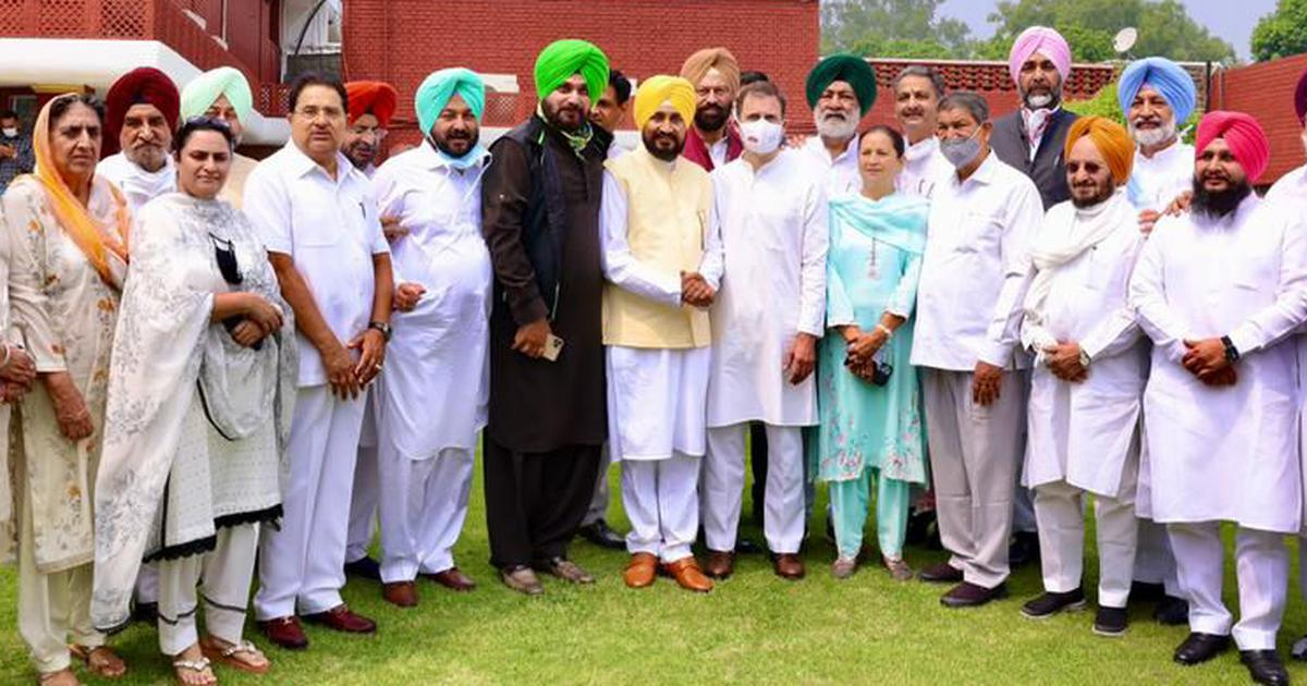 Both Navjot Sidhu and Charanjit Channi will be our faces for Punjab elections next year: Congress