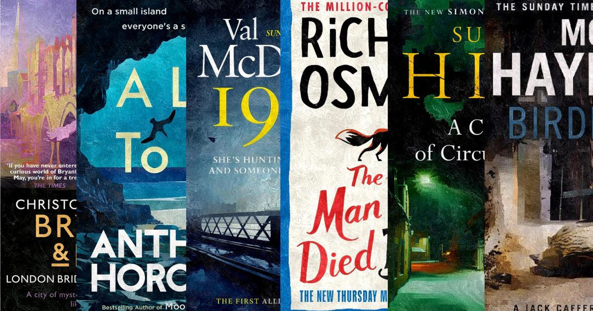 Five of the best new crime novels to read this autumn (and one golden oldie)