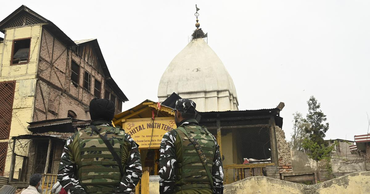 J&K police officer shot dead as temple security guard assumed he was an 'anti-national element'