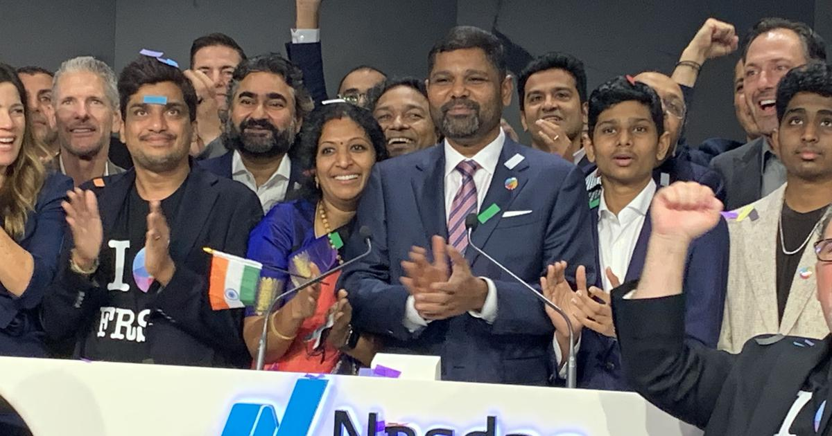 Shares of Chennai-based startup rise 32% in US stock markets after $1 billion IPO