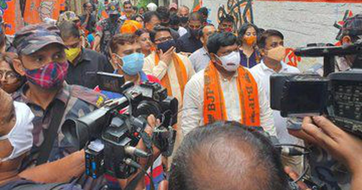 West Bengal BJP chief, party's Bhabanipur bye-poll candidate booked after protest near CM's home