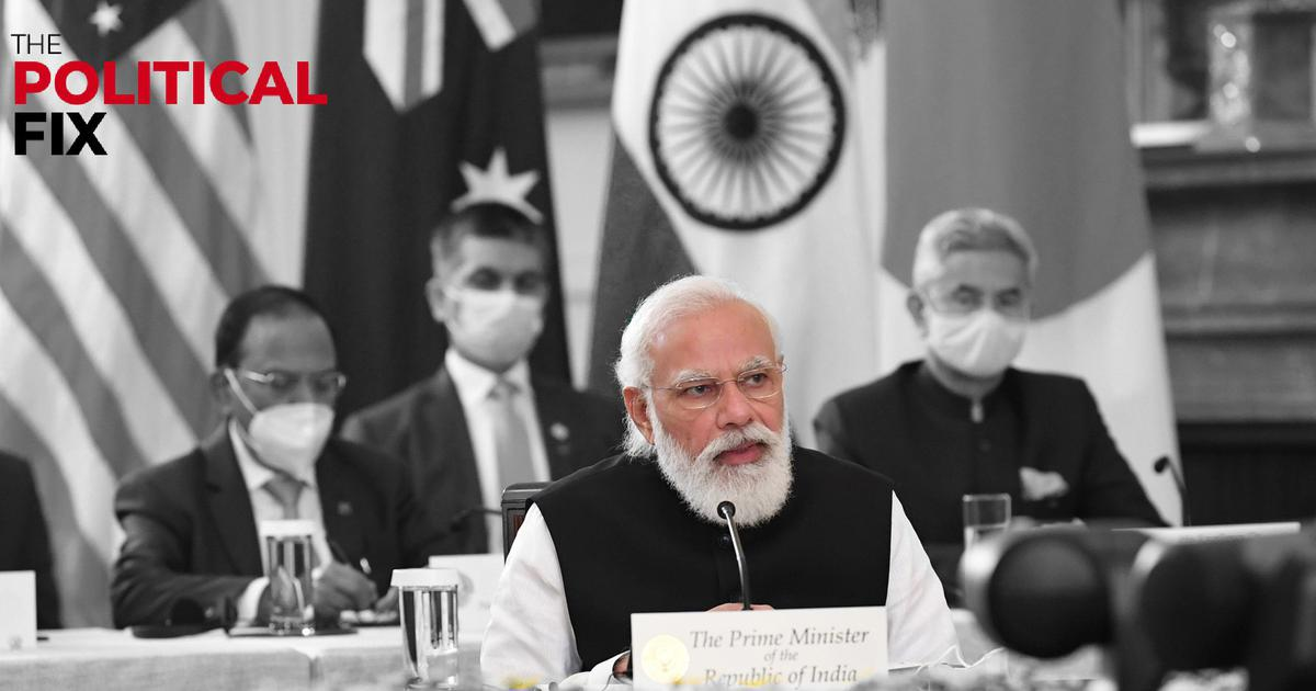 The Political Fix: Will Quad membership and a 'minilateral web' protect India against China?