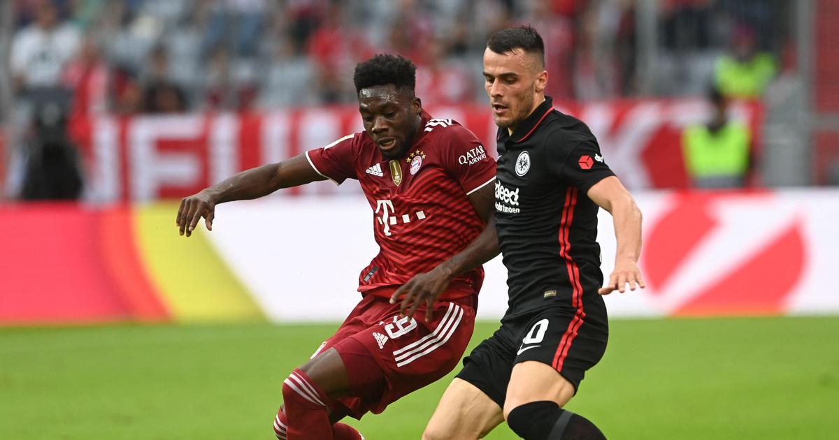 Bundesliga: Nagelsmann suffers first defeat as Bayern coach as Kostic nets late winner for Frankfurt