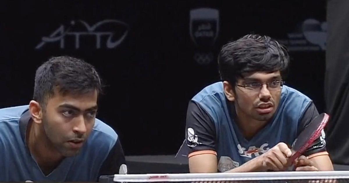 Asian Table Tennis C'ships: India's Desai-Thakkar, Sharath-Sathiyan win men's doubles bronze medals