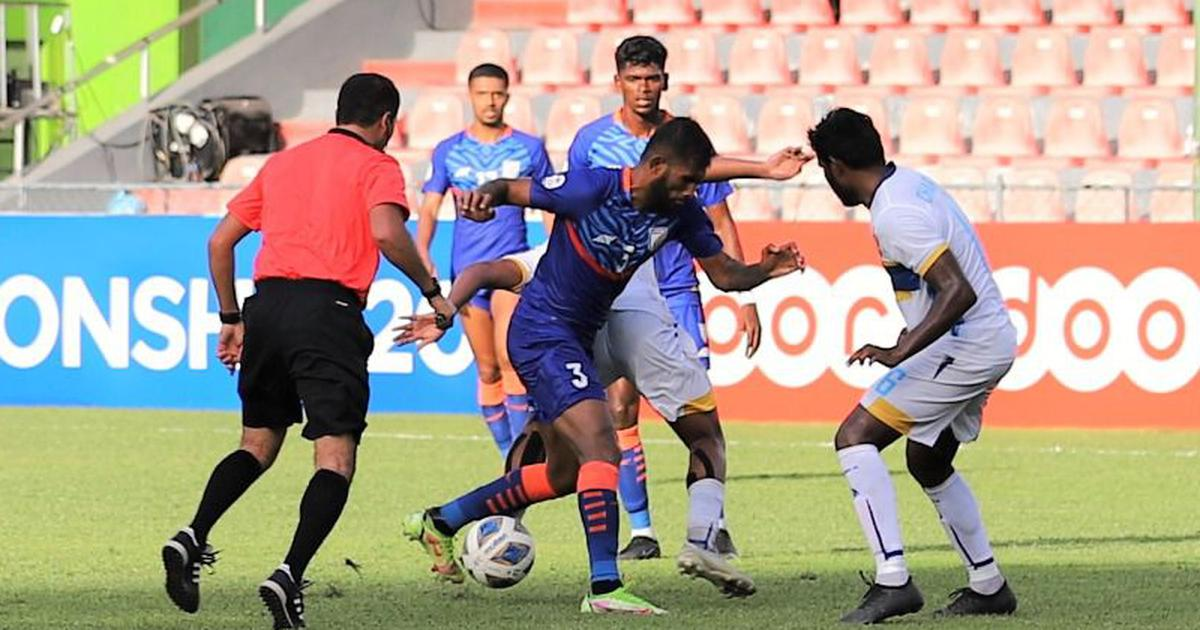 Football: Lower-ranked Sri Lanka hold India to 0-0 draw at SAFF C'ship, add to Igor Stimac's misery