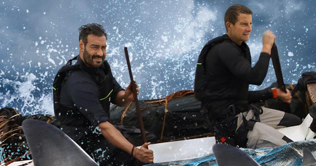 Watch: Ajay Devgn is the new star guest of 'Into The Wild with Bear Grylls'