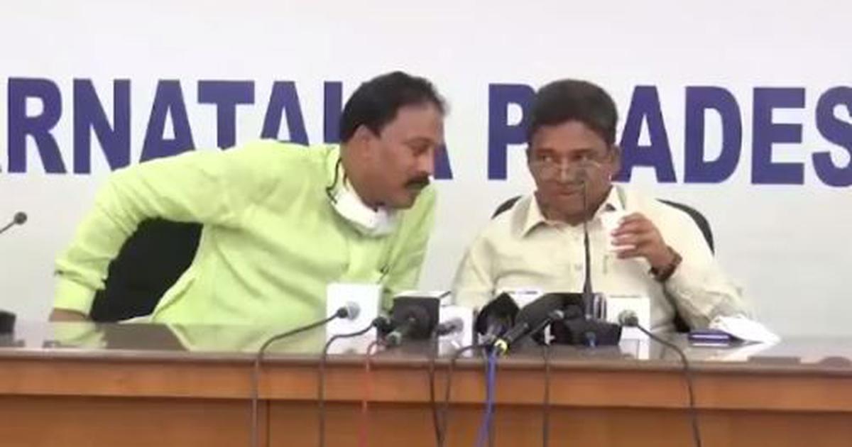 Karnataka Congress leaders accuse DK Shivakumar of corruption in viral video