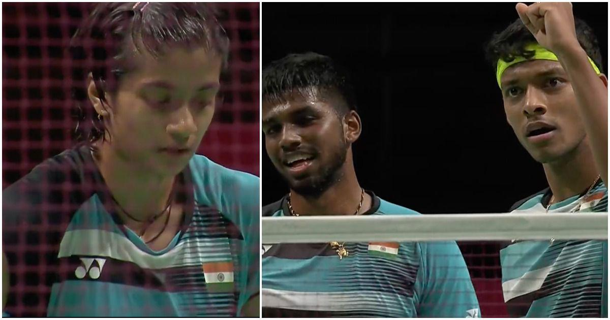 Thomas and Uber Cup badminton: Satwik-Chirag shine in defeat against China, women's team bow out