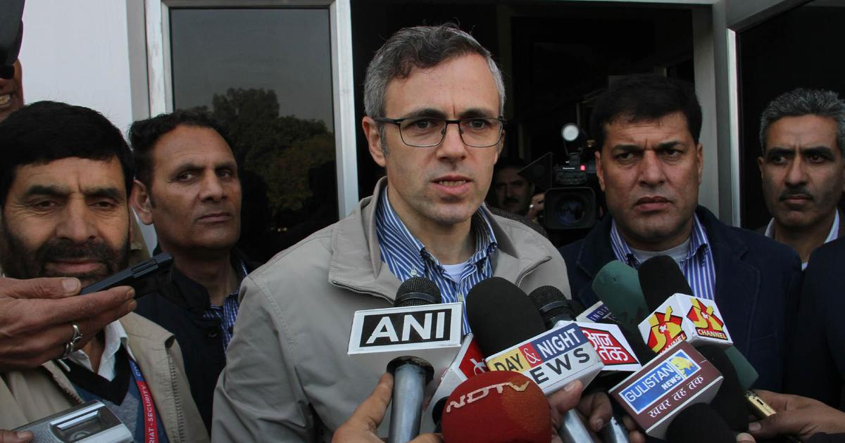 Omar Abdullah's 'considerable influence' over voters cited as a reason for PSA charges: Reports
