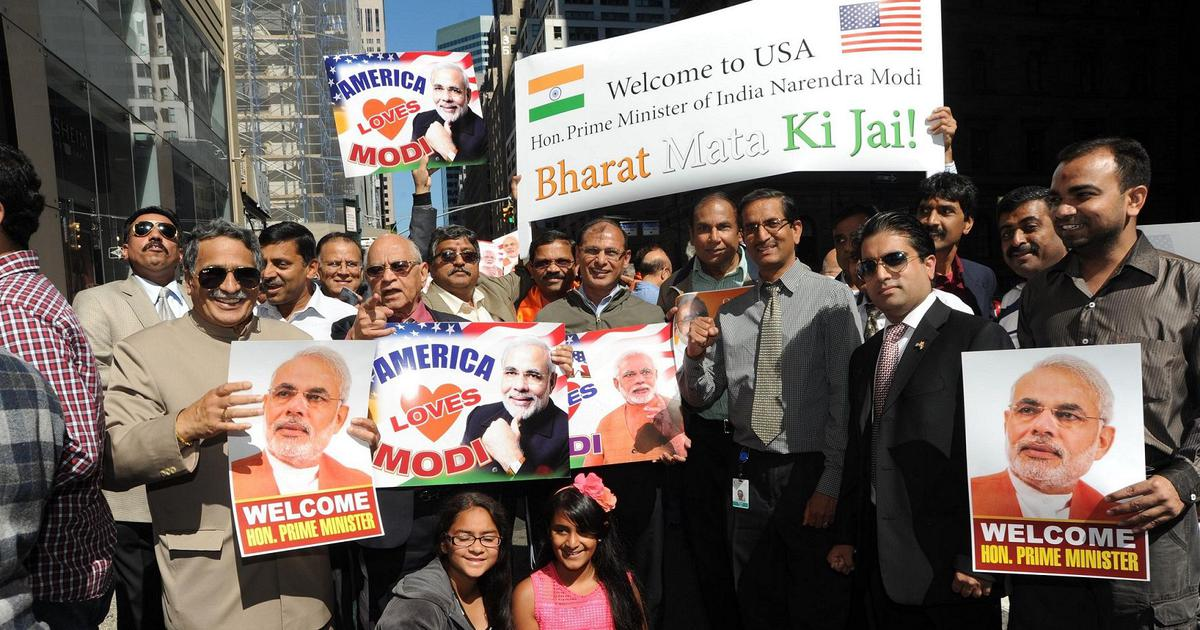 What explains Indian-Americans being anti-Trump but also pro-Modi?