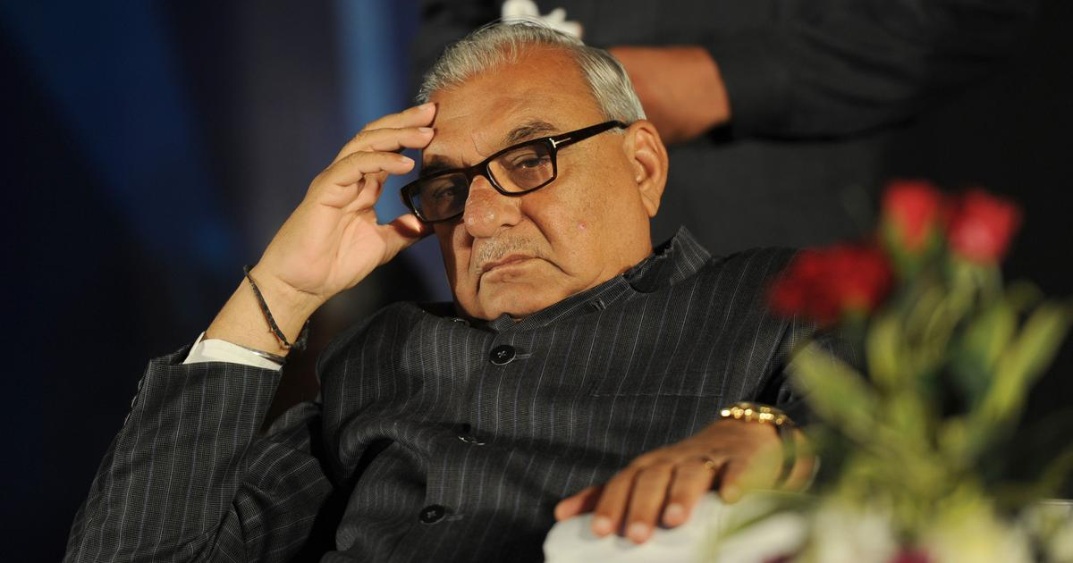 Congress leaders Bhupinder Singh Hooda, Motilal Vora granted bail in land allotment case