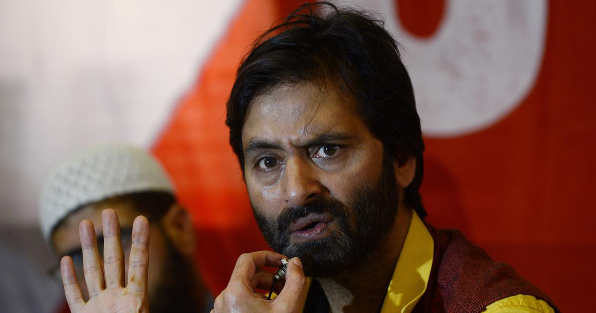 Yasin Malik is 'seriously ill' after hunger strike in NIA custody, claims family