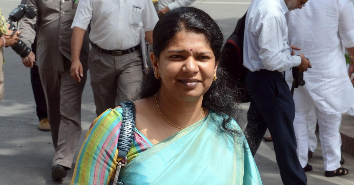 DMK leader Kanimozhi alleges CISF officer asked her if she was Indian for not knowing Hindi