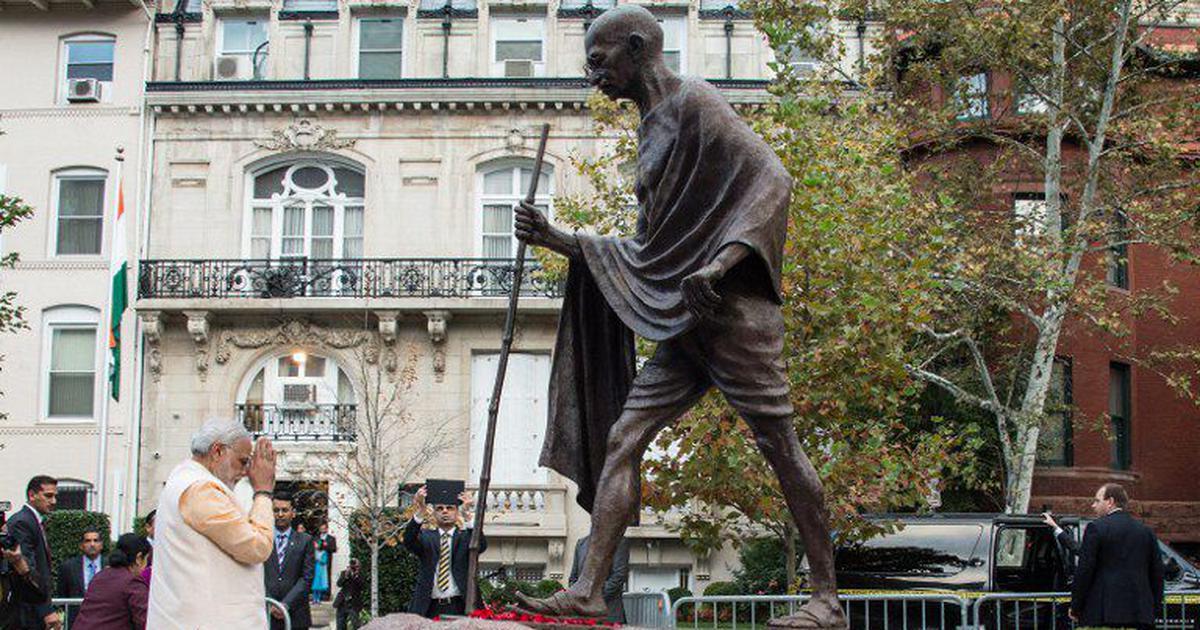 Desecration of Gandhi statue in Washington appalling, says US