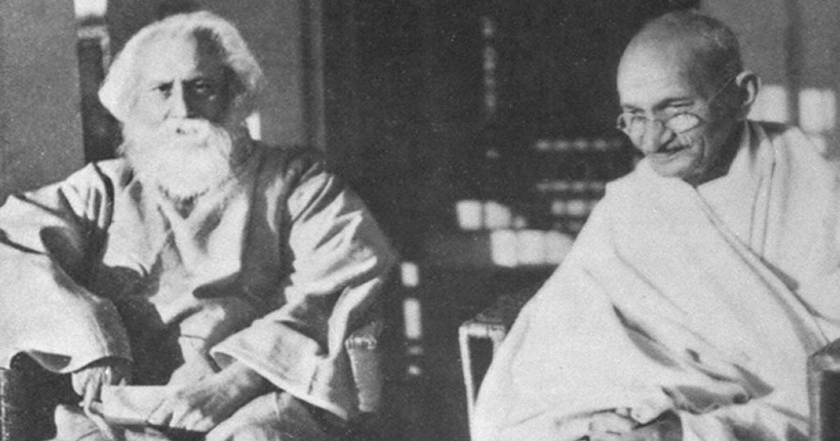 Mahatma Gandhi disagreed with Rabindranath Tagore on many things. Here's where they agreed
