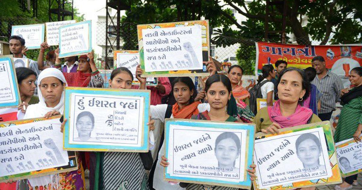 Ishrat Jahan encounter: Gujarat government refuses sanction to prosecute three police officers