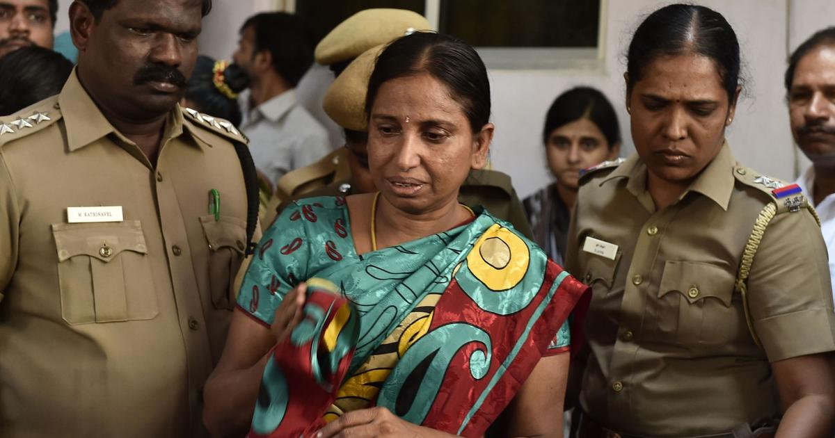 Rajiv Gandhi murder convict Nalini Sriharan released on 30-day parole to attend daughter's wedding