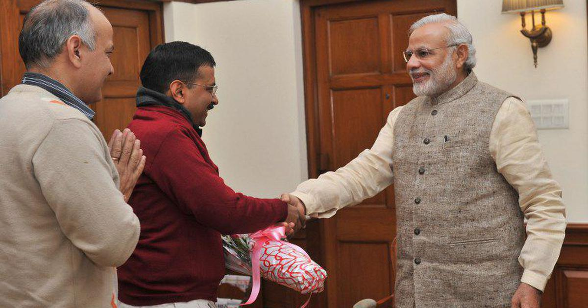 Arvind Kejriwal meets PM Modi, seeks Centre's support for plans to store Yamuna water