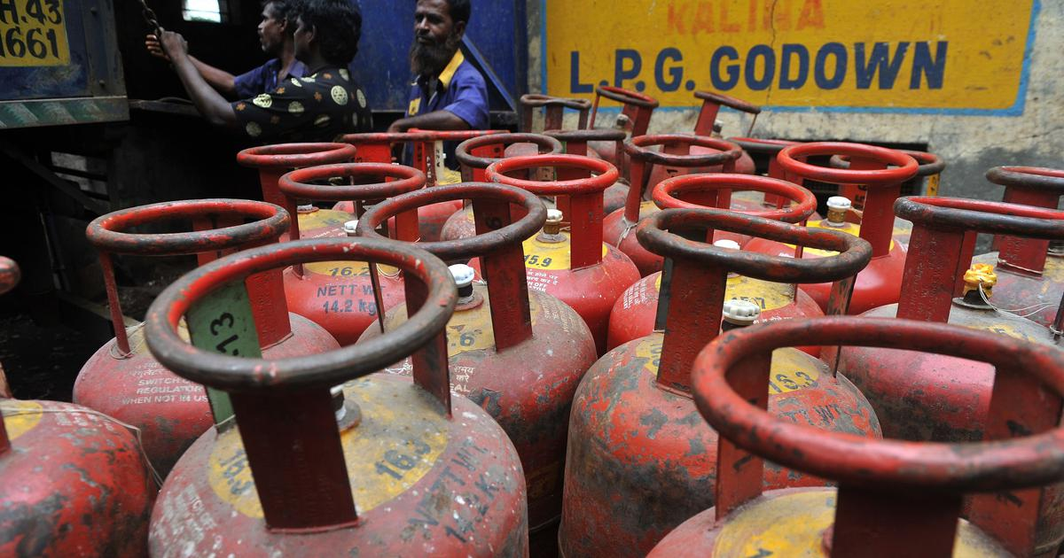 Non-subsidised LPG price reduced by over ₹100 per cylinder