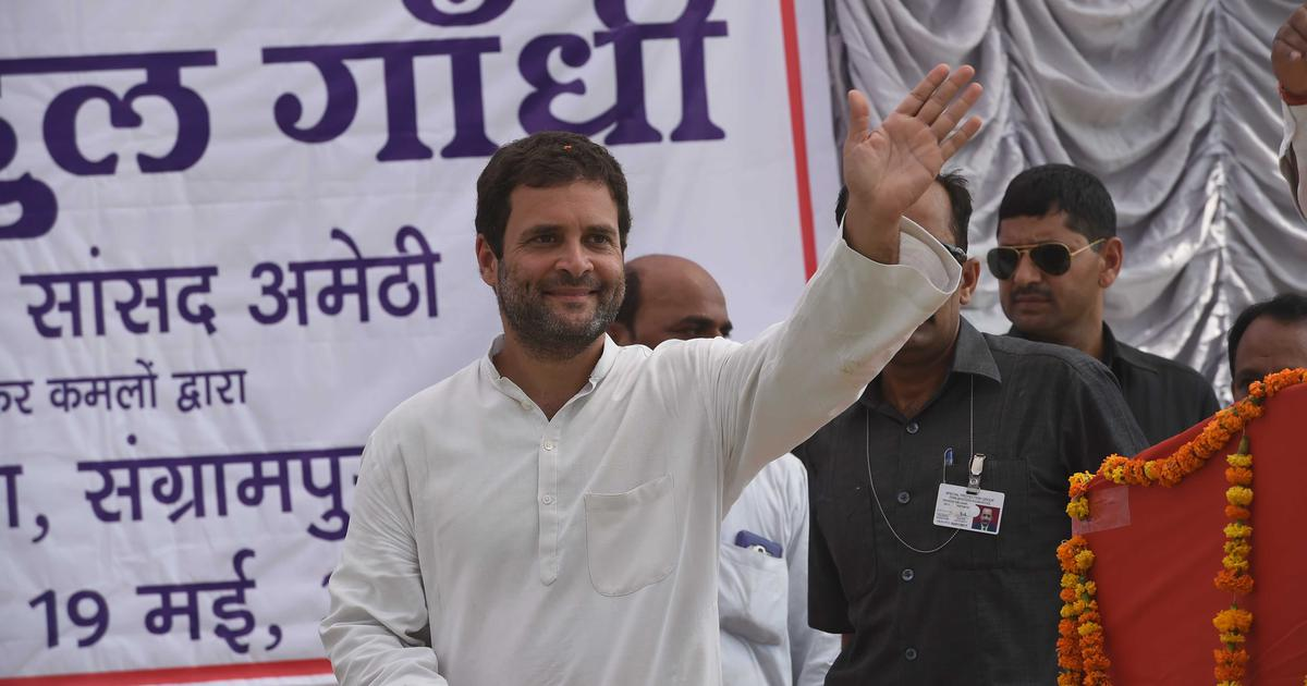 Lok Sabha polls: Rahul Gandhi's nomination papers are valid, rules Amethi returning officer