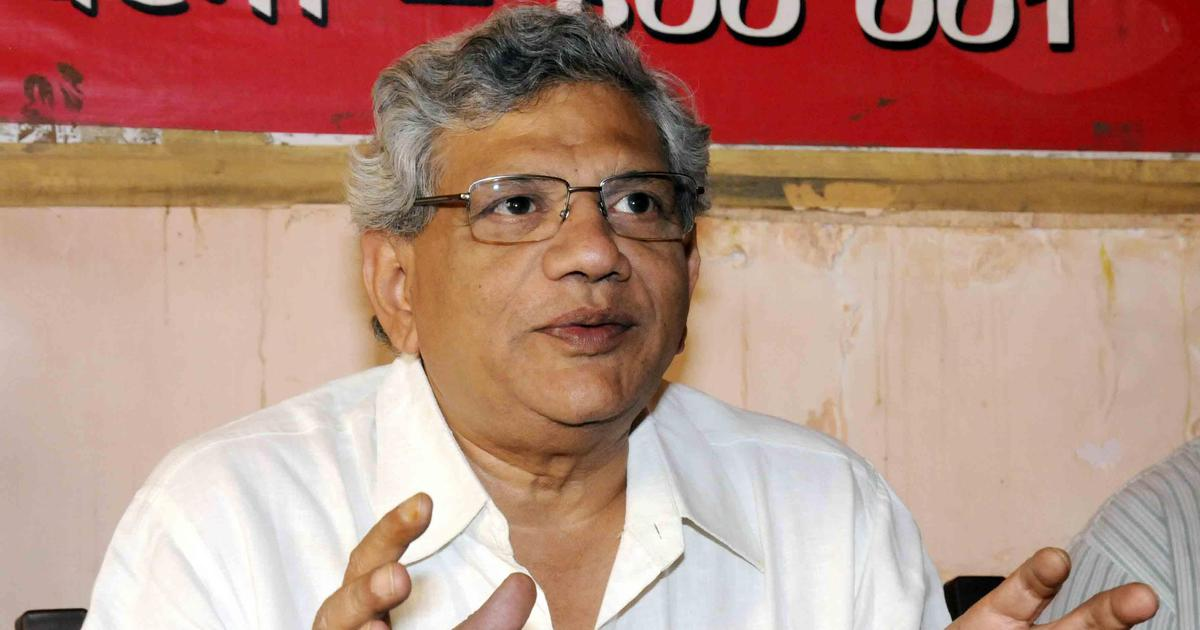 J&K: Left leaders Sitaram Yechury, D Raja sent back to Delhi after being stopped at Srinagar airport
