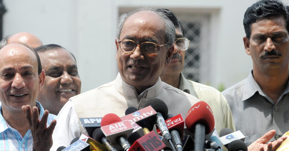 IAF air strike: Digvijay Singh says Centre should provide evidence of Indian operation in Balakot