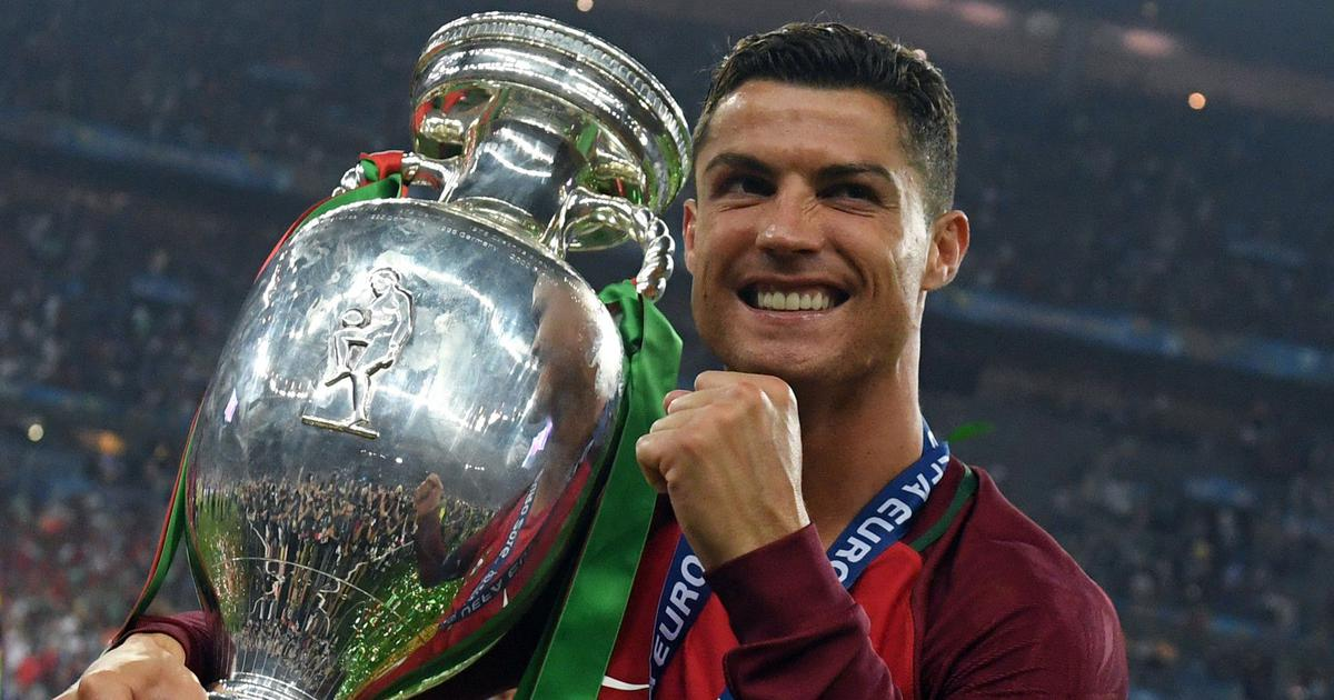 When an injured Cristiano Ronaldo rallied Portugal to victory in Euro 2016 final from the sidelines