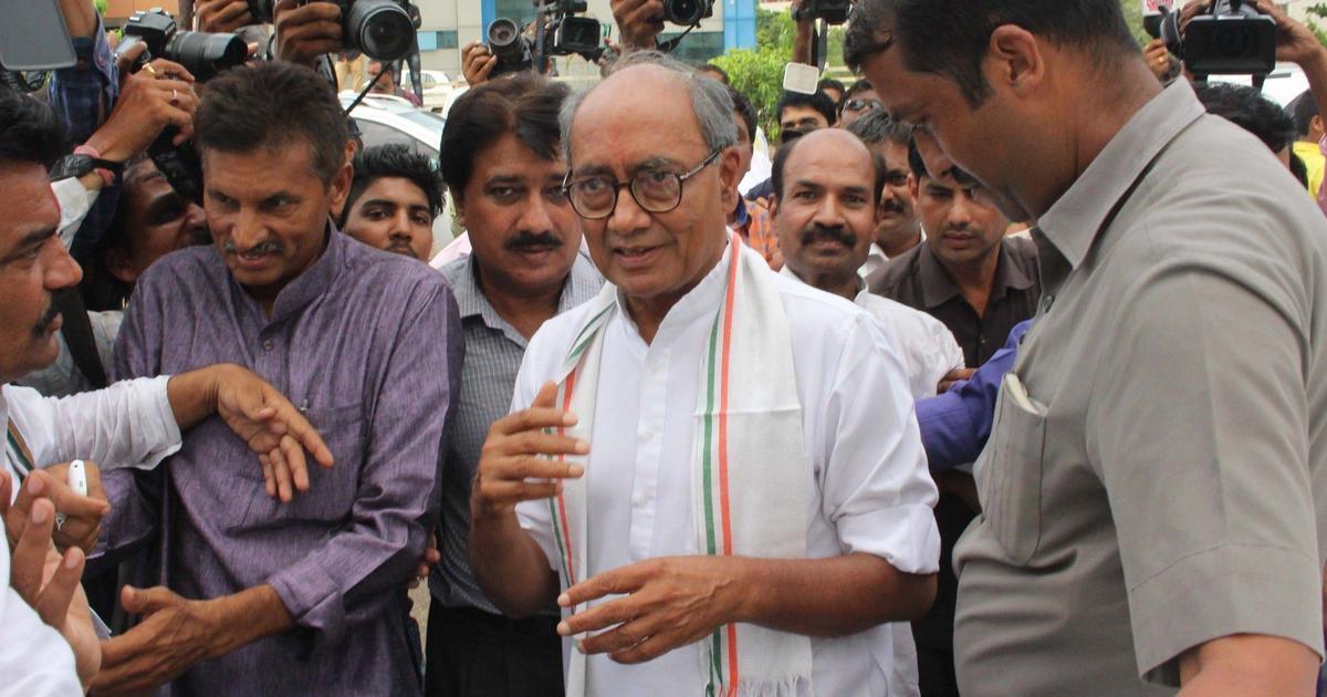 Madhya Pradesh: Congress will lose votes if I campaign, says Digvijaya Singh