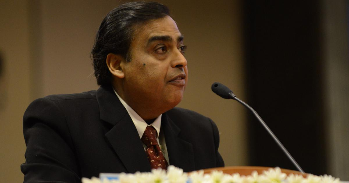 Mukesh Ambani becomes world's fifth richest man on Forbes' real-time list of billionaires