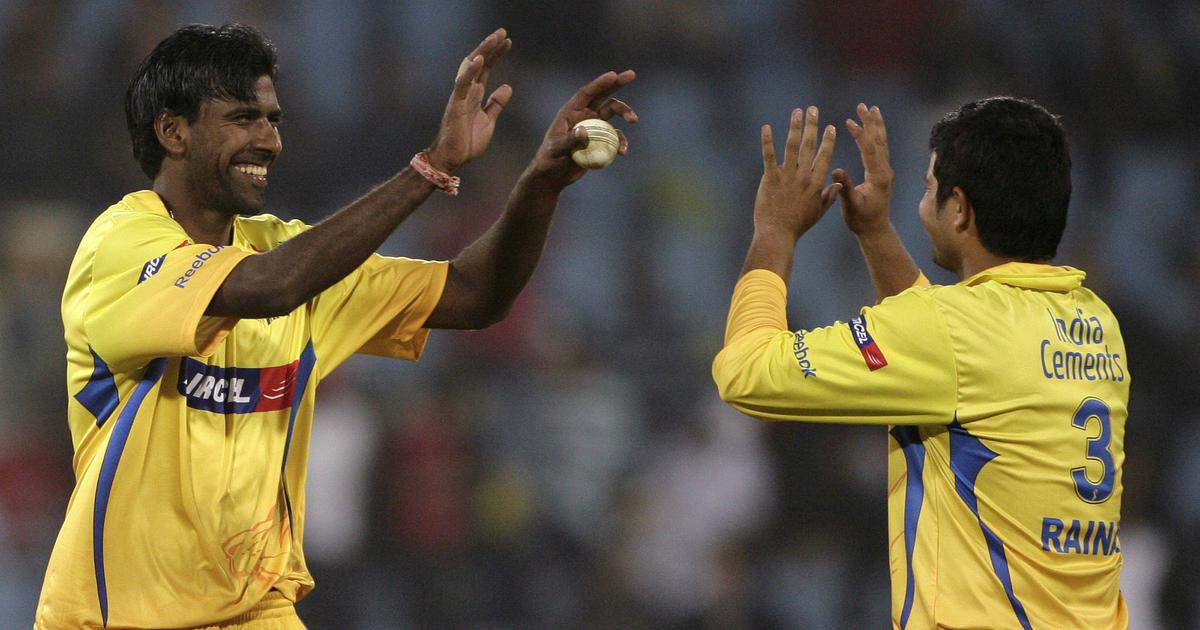 Watch: Lakshmipathy Balaji bags the first-ever hat-trick in the IPL in CSK's win over KXIP in 2008