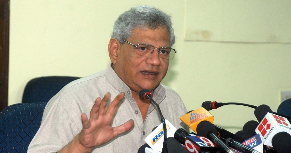 Facebook-BJP 'nexus': Sitaram Yechury calls for inquiry, criticises RS Prasad's letter to Zuckerberg