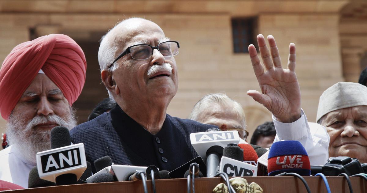 Lok Sabha polls: LK Advani's seat 'snatched', says Congress on BJP's first list of candidates
