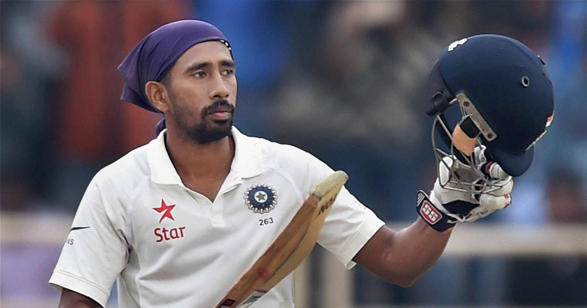 Had a good time with Rishabh Pant at NCA, didn't talk about selection: Wriddhiman Saha