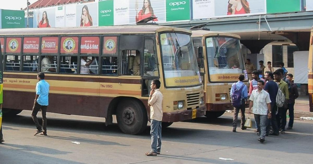 Chennai: Transport staff go on strike claiming non-payment of salaries, hundreds of buses off roads