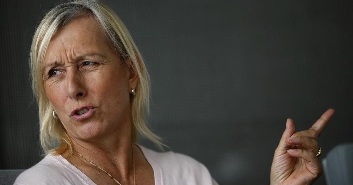Tennis great Navratilova apologises after terming transgender athletes as 'cheats' in column