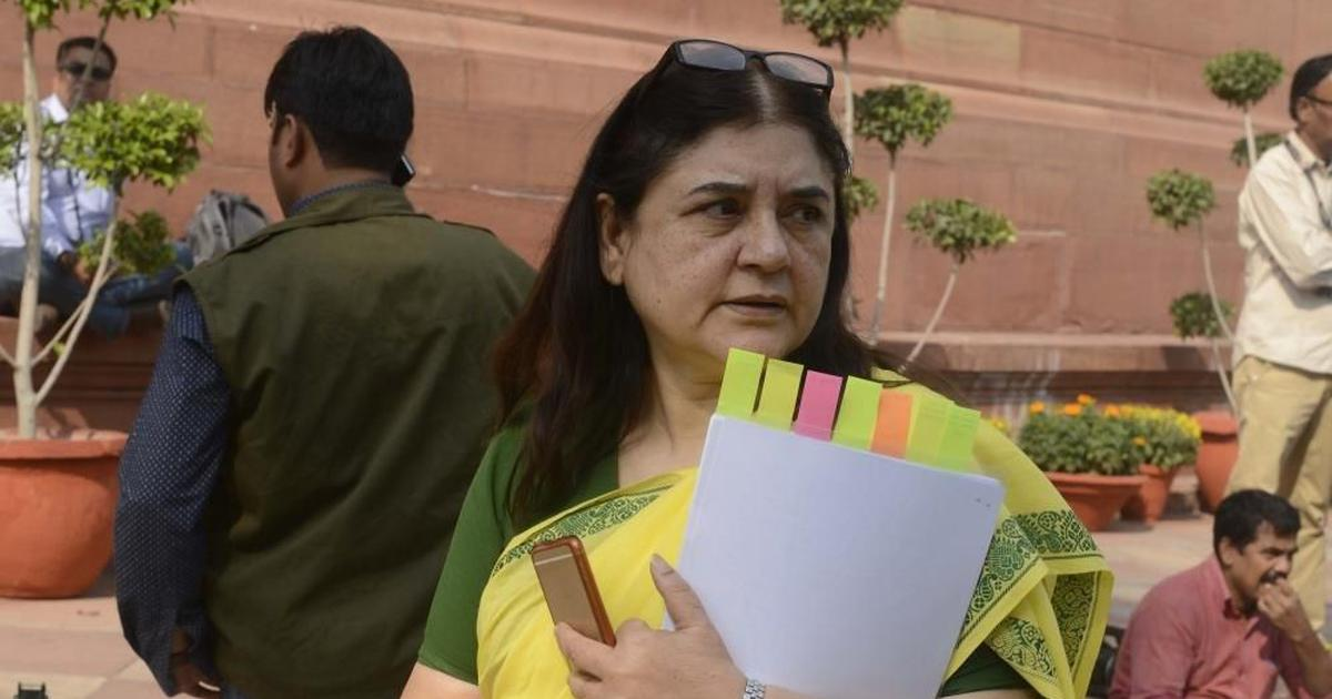 Model code violations: EC bans Maneka Gandhi from campaigning for 48 hours, Azam Khan for 72 hours