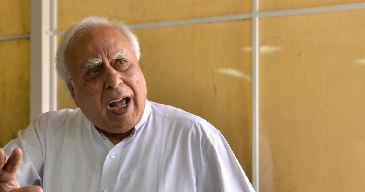 'Show your 56-inch chest to Xi Jinping, tell him to vacate land in PoK,' Kapil Sibal tells PM Modi