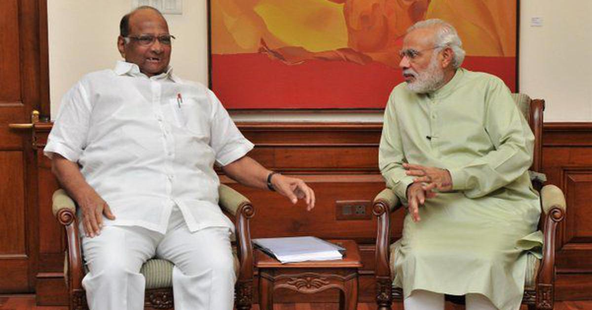 'Shocked': Sharad Pawar writes to Modi over governor's letter to CM on reopening places of worship
