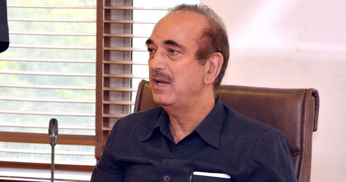 Jammu and Kashmir: Ghulam Nabi Azad asks why Opposition members aren't allowed to visit state