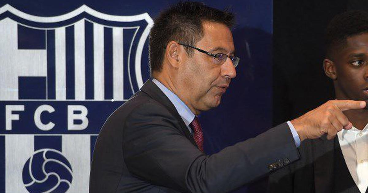 Former Barcelona president Josep Bartomeu released from jail after appearing before judge