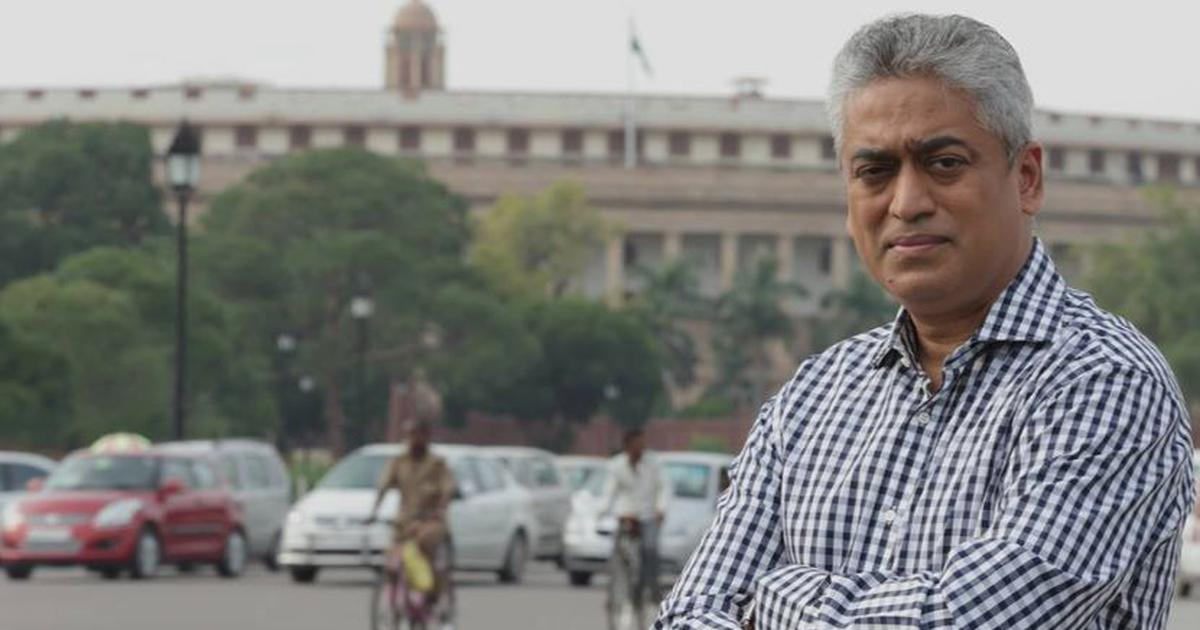 India Today takes anchor Rajdeep Sardesai off air for two weeks for tweet about farmer's death