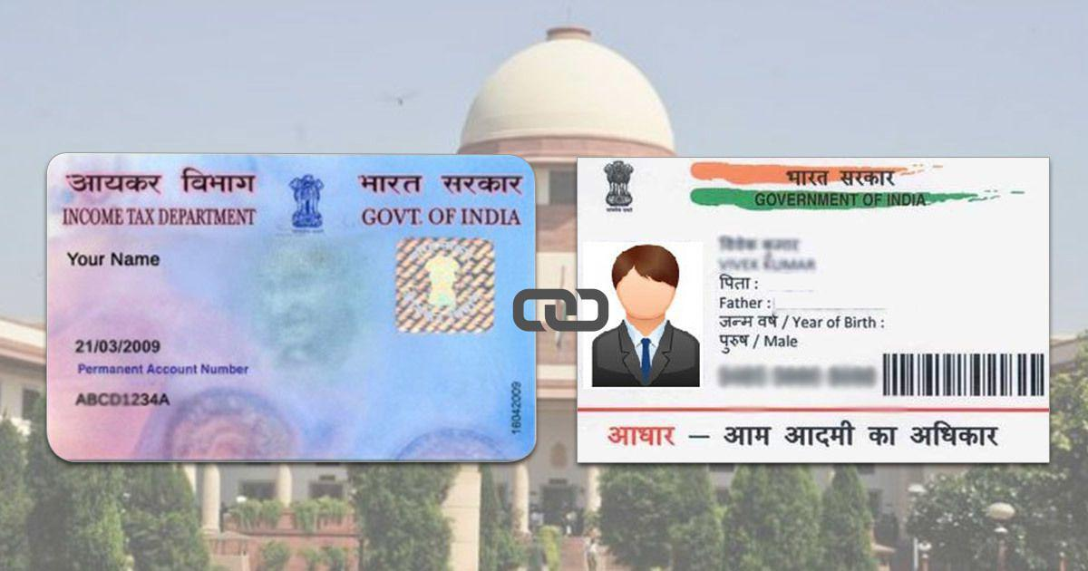 Linking Aadhaar with PAN card compulsory to file income tax returns, says Supreme Court