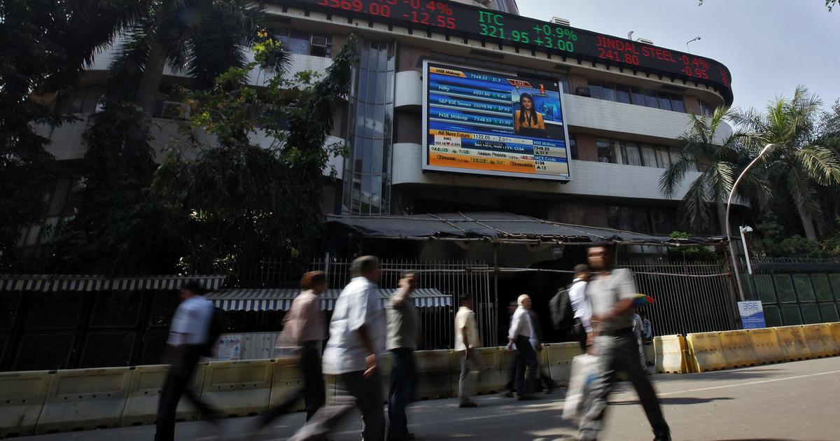 Sensex closes at record high of 40,469, Nifty ends at 11,966 after crossing 12,000-mark