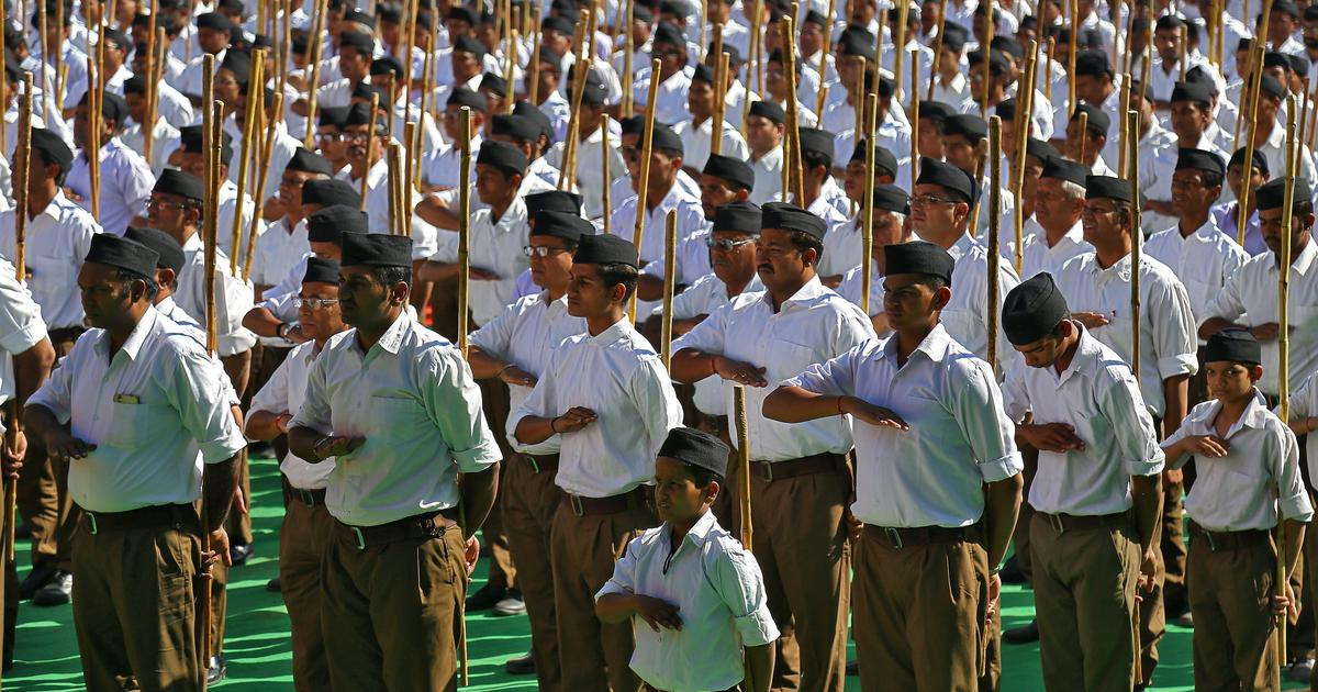 Bihar government asked police to collect information on RSS leaders, Sangh outfits in May: Reports