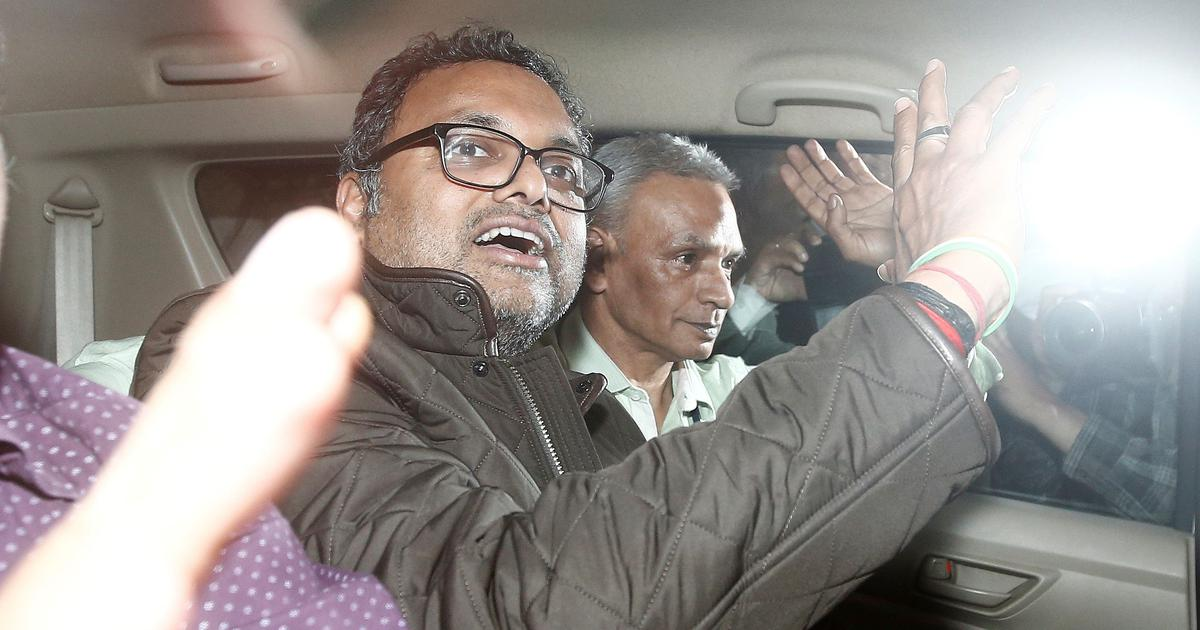 Karti Chidambaram appears before Enforcement Directorate in INX Media case