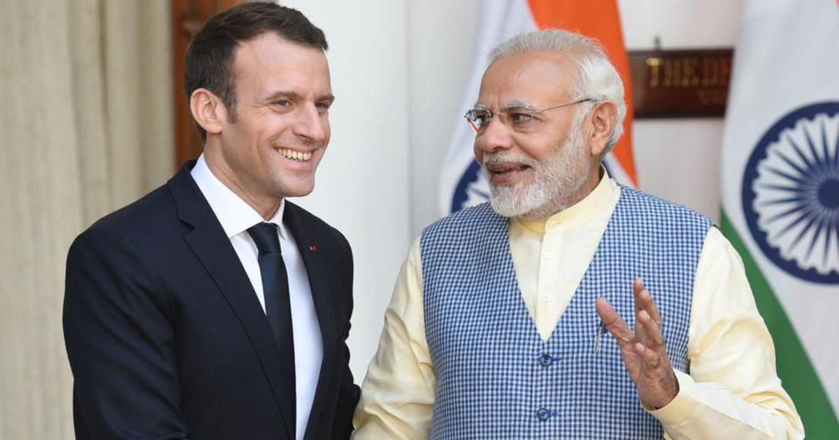 India's government supports Macron – but at home neither opposes violence nor defends free speech