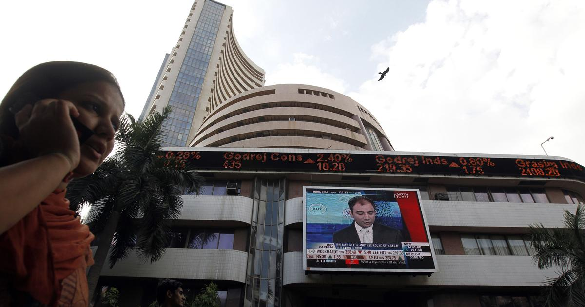 India's stock markets saw a boom in new listings as the economy was entering a recession